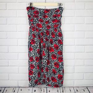 Torrid women's plus size 3 strapless dress